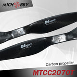 Carbon fiber propeller 20.0x7.0inch for big Aerial photography filming