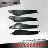 In Stock! Maytech Low noise MTCC2685TQF 26inch carbon fiber balsa wood Composite propeller for agricultural drones aerial photography
