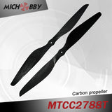 Carbon fiber propeller 27.0x8.0inch for big agriculture drone