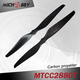 Carbon fiber propeller 28.0x8.0inch for big Aerial photography filming