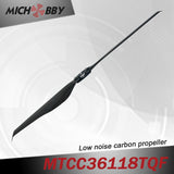 In Stock! Maytech Low noise MTCC36118TQF 36inch carbon fiber balsa wood Composite propeller for agricultural drones aerial photography