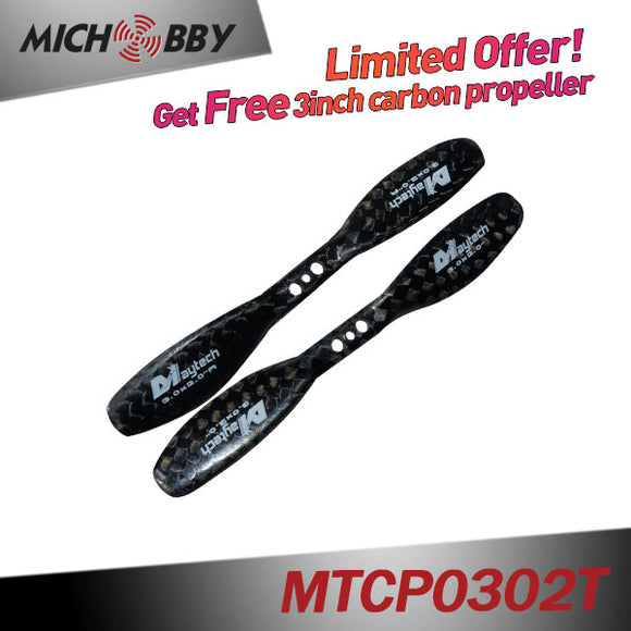 (Giveaway 3-8inch Carbon propellers)  Get Free carbon fieber propeller When Place any Order