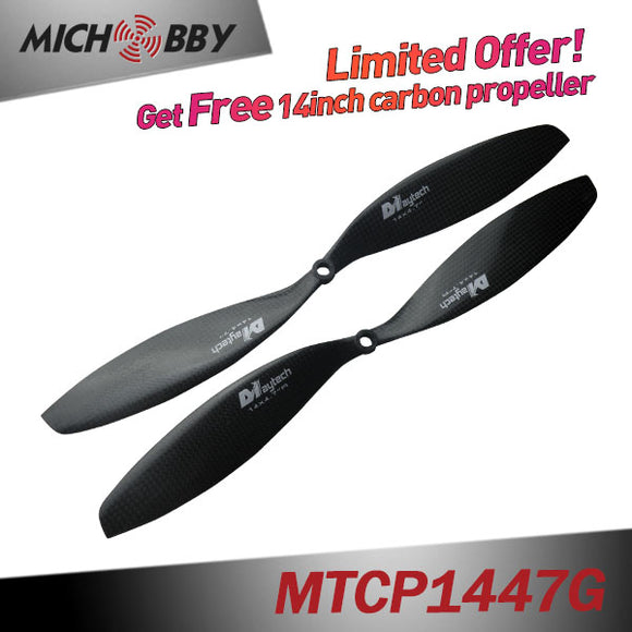 (Giveaway 14-22inch Carbon propellers)  Get Free carbon fieber propeller When Place any Order