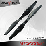 Carbon fiber propeller 22.0x6.5inch for drone for agriculture