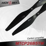 Carbon fiber propeller 26.0x8.5inch fordrone agriculture sprayer