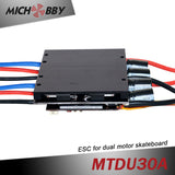 Maytech dual drive controller with FOC mode for hub skateboard electric longboard