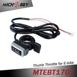 Maytech thumb throttle for electric bike bicycle e-scooter 24V/36V/48V