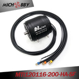 Maytech MTI120116 Brushless Inrunner Motor for Efoil/Esurf/Hydrofoil Powerful Engine with Water-cooling Fullywateproof