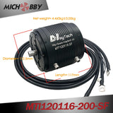3pcs Maytech MTI120116 Brushless Inrunner Motor for Efoil/Esurf/Hydrofoil Powerful Engine with Water-cooling Fullywateproof