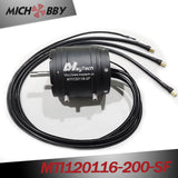 Maytech 120116 Brushless Inrunner Motor for Efoil/Esurf/Hydrofoil Powerful Engine with Water-cooling Fullywateproof
