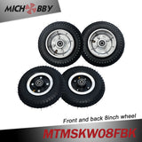Maytech electric mountainboard kit offroad skateboard trucks, wheels, pulleys, belts