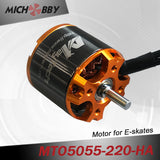 Hot Combo 5055 220KV motor+Vedder VESC for electric skateboard