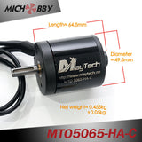 Maytech waterproof electric outboard motor 5065 170kv for underwater robots