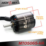 In Stock! Maytech 2pcs 5065 220/270KV Bruhsless Outrunner Sensored Motor Open Cover 8mm Shaft for Electric Skateboard/Fighting Robots