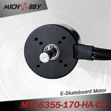 Maytech 6355 170kv electric scooter engine with closed cover and 50A VESC based controller for electric mountainboard