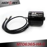 In Stock! MTO6355-170/190-HA 6355 170KV 190KV Brushless Outrunner Sensored Motor Black Sealed Cover