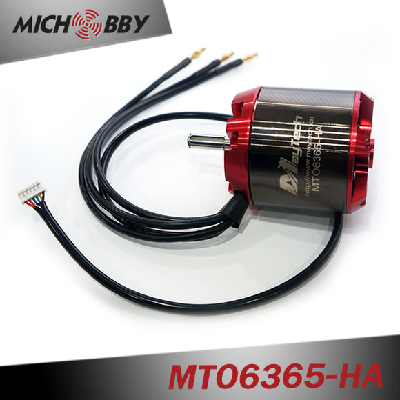 Maytech sensored engine 6365 170KV 190KV 200KV electric scooter motor for electric skateboard Robots