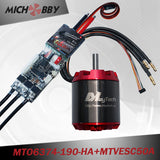 Maytech electric engine 6374 motor+50A super ESC based on VESC for electric longboard