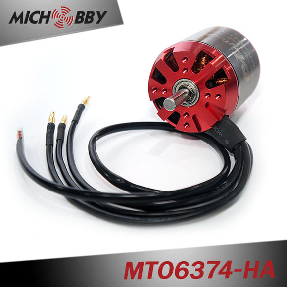 Maytech sensored 6374 90KV 18-22S HV version electric motor for electric vehicle/ diy electric skateboard