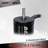 Maytech 6374 170kv electric engine with closed cover and 50A VESC based controller for electric mountainboard