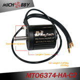 In Stock! Maytech waterproof dustproof sensored motor 6374 170KV 10mm shaft for electric mountainboard offroad skateboard