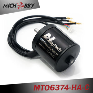 In Stock! Maytech waterproof and dustproof sensored outrunner motor 6374 170KV 8mm shaft for electric scooter