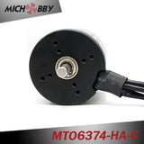 Maytech waterproof and dustproof sensored outrunner motor 6374 170KV 8mm shaft for electric scooter