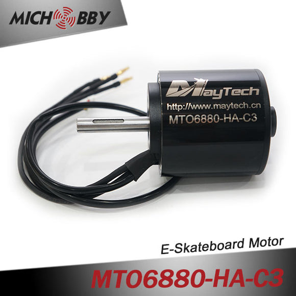 In Stock! Maytech waterproof dustproof sensored motor 6880 190KV with exrtra big bearing for electric mountainboard offroad skateboard robots