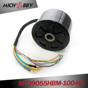 Maytech 90mm 100KV Hub motor 1000W for electric skateboards longboard delivery robot agricultural robots