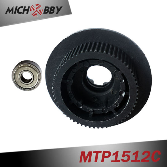 In Stock! Electric skateboards Wheel Pulleys HTD-3M 60T with bearing