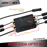 In Stock! Maytech 300A ESC 100% Waterproof Electric Speed Controller with Progcard for Eletric Surfboard Efoil Boat