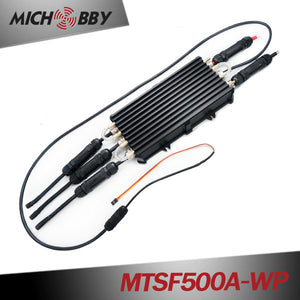 Maytech 500A ESC fully Waterproof Electric Speed Controller with Progcard for Eletric Surfboard Boat Jetski