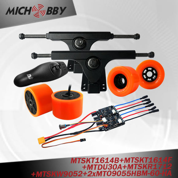 In Stock! 90mm Electric hub motor kit dual hub motor electric skateboard kit