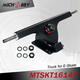 In Stock! 90mm Electric hub motor kit dual hub motors electric skateboard kit VESC50A based on VESC4.12 controllers