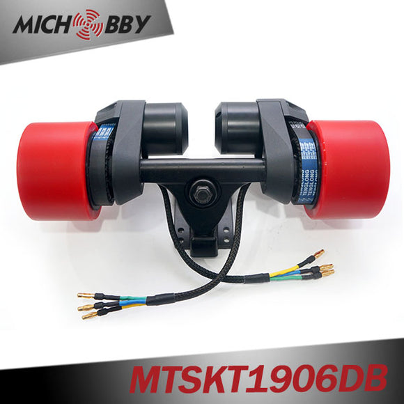 60% OFF 5055 Brushless Motor Truck Pulley Comb Electric Skateboard Kit