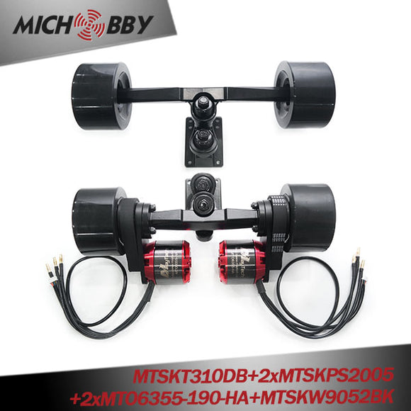 In Stock! Maytech E-Skateboard Belt Drive Truck 4 Wheel Longboard 5065/6355/6365/6374 Motors Pulleys Trucks Wheels kit