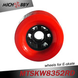 In Stock! Longboard Wheel Road Racing Electric Skateboard Wheel 83mm 78A With ball bearing