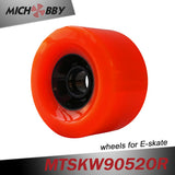 Maytech electric skateboard wheel 90mm PU longboard wheel With ball bearing Front wheel