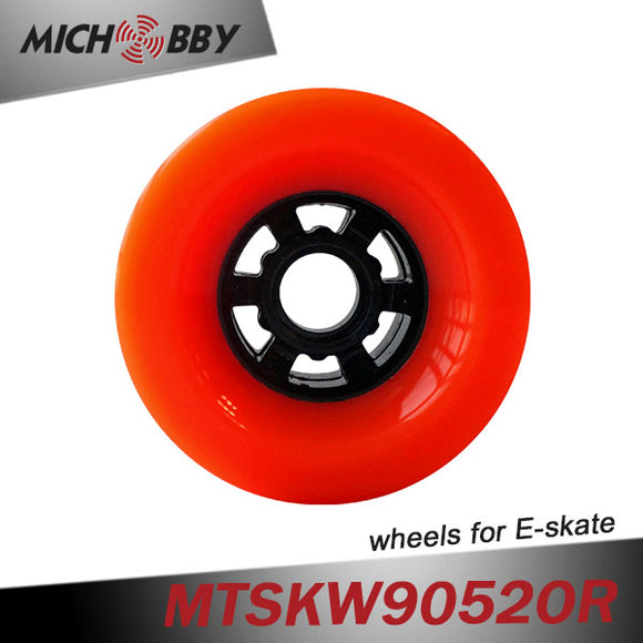 In Stock! Maytech electric skateboard wheel 90mm PU longboard wheel With ball bearing Front wheel