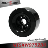 Longboard Wheel Road Racing Electric Skateboard Wheel 97mm 85A With ball bearing