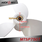Maytech 7.5*7 inch aluminum alloy efoil propeller for electric efoil surfboard hydrofoil jet surf board boat