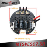Maytech High Voltage 50A 75V VESC6 based controller MTSVESC7.5R Round Shape for Robotics Electric skateboard ROV