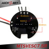 In Stock! Maytech High Voltage 50A 75V VESC6 based controller MTSVESC7.5R Round Shape for Robotics Electric skateboard ROV