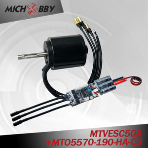 Maytech 5570 190kv brushless motor MTO5570-190-HA-C3 with sealed cover for fighting robots
