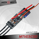 Maytech 6355 170kv electric outrunner with closed cover and 50A VESC based controller for eskate