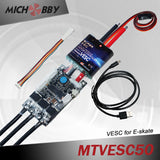 Maytech electric engine 6374 motor+ 50A super ESC based on VESC for electric longboard