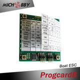 ProgcardB for programing MTB TigerShack Series ESCs Baitboats RC Boats ESC