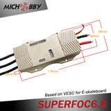 Maytech SUPERFOC6.8 based on VESC6 Speed Controller 50A for Electric Skateboard Mountainboard Robot SUPERFOC with Aluminum Case
