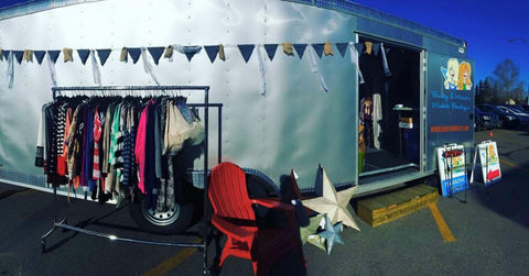 Our first boutique on wheels.