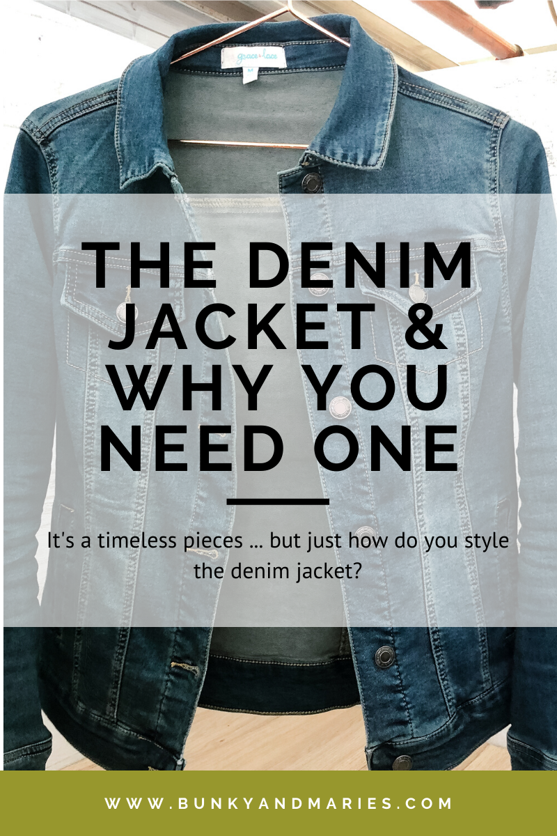 The Denim Jacket & Why You Need One